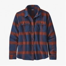 PATAGONIA L/s Fjord Flannel Shirt Donna