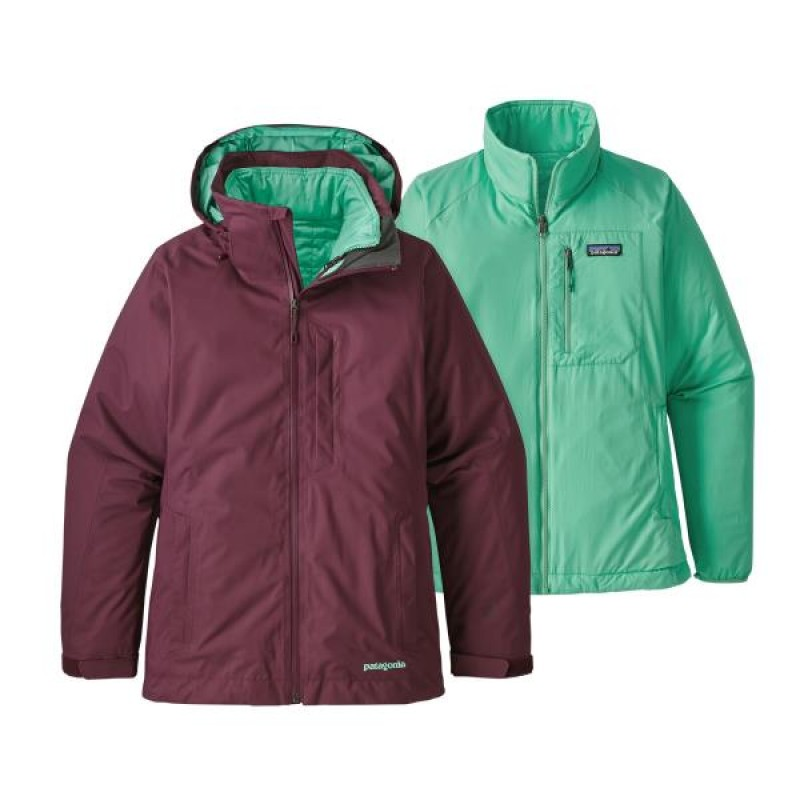 PATAGONIA 3 in 1 Snowbelle Jkt Donna