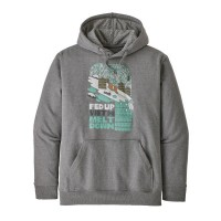 PATAGONIA Fed Up With M.Down Uprisal Hoody Uomo