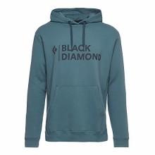 BLACK DIAMOND Stacked Logo Hoody Uomo