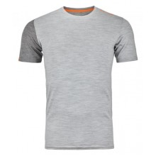ORTOVOX 185 Rock'n'Wool Short Sleeve Uomo