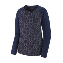 PATAGONIA Capilene Midweight Crew Donna New