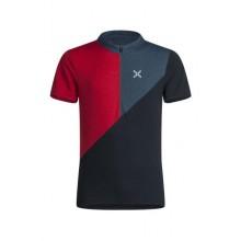 MONTURA Vertical Block Zip T-Shirt Uomo