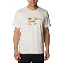 COLUMBIA Clarkwall Organic Cotton T-shirt Uomo