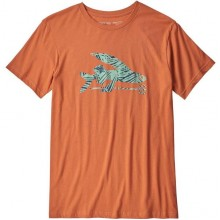 PATAGONIA Flying Fish Organic T-shirt Uomo