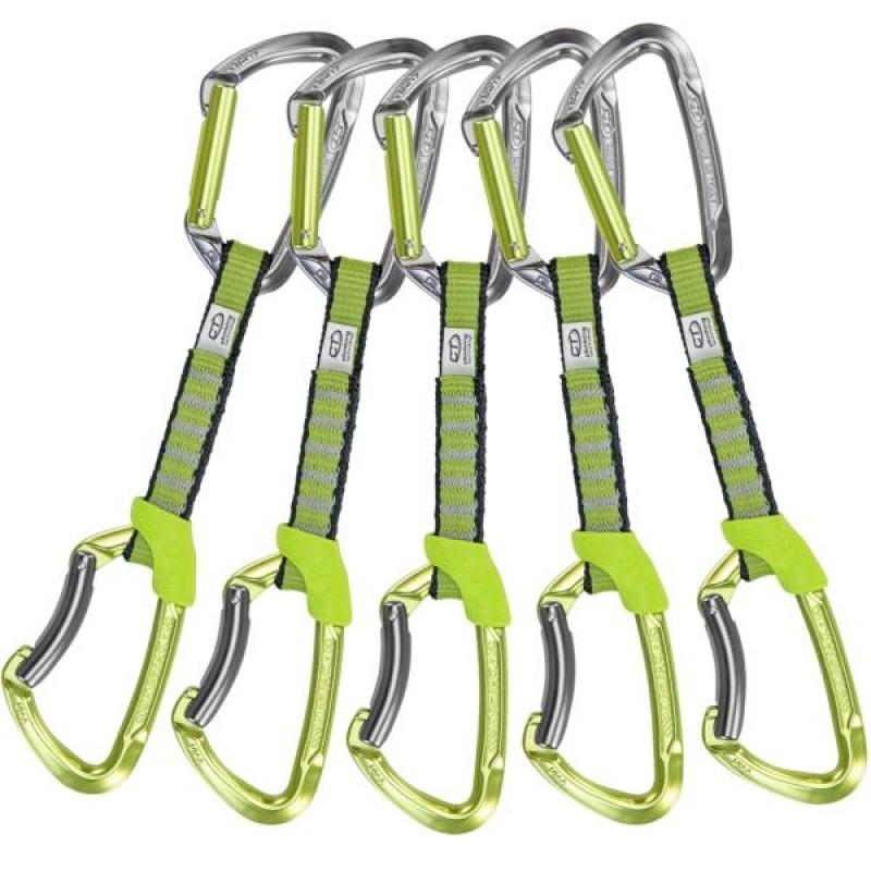 CLIMBING TECHNOLOGY Lime Set Nylon 5 Pz.12 cm