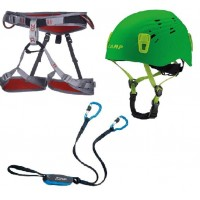 CAMP Set Ferrata Camp Kinetic Completo